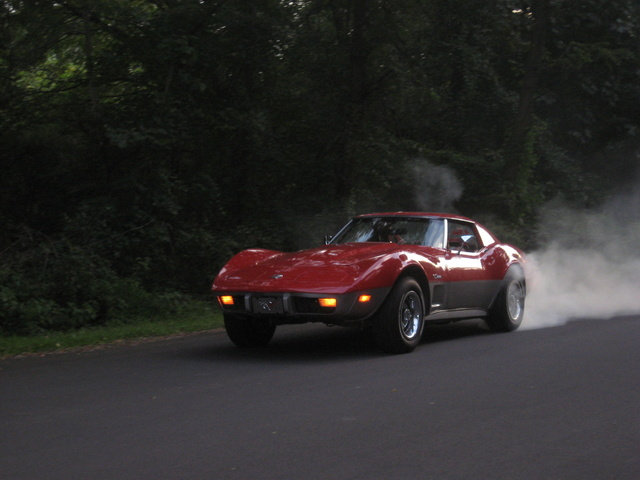 1974 Chevrolet Corvette 2 Dr STD Coupe, Me and my baby out for a drive after Fresh Paint.., exterior