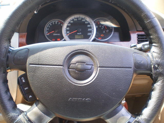 Chevrolet Optra Interior Chevrolet Optra Interior