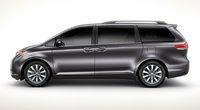 2011 Toyota Sienna, side view, exterior, manufacturer