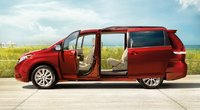 2011 Toyota Sienna, side view , exterior, interior, manufacturer