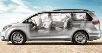 2011 Toyota Sienna, airbags, interior, manufacturer
