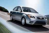 2010 Kia Rio, Front Right Quarter View, exterior, manufacturer