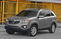 2011 Kia Sorento, Front Left Quarter View, exterior, manufacturer, gallery_worthy
