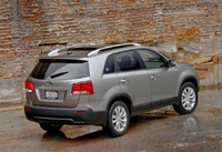2011 Kia Sorento, Back Right Quarter View, manufacturer, exterior