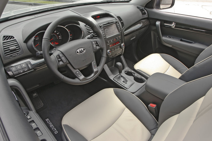2011 Kia Sorento, Interior View, manufacturer, interior