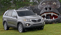 2011 Kia Sorento, Front Right Quarter View, exterior, manufacturer