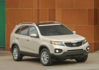 2011 Kia Sorento, Front Right Quarter View, manufacturer, exterior