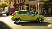 2011 Ford Fiesta, side view , exterior, manufacturer