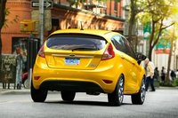 2011 Ford Fiesta, back view , exterior, manufacturer