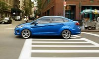 2011 Ford Fiesta, side view , manufacturer, exterior