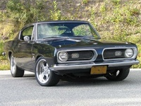 1967 Plymouth Barracuda, 1972 Plymouth Barracuda picture, exterior