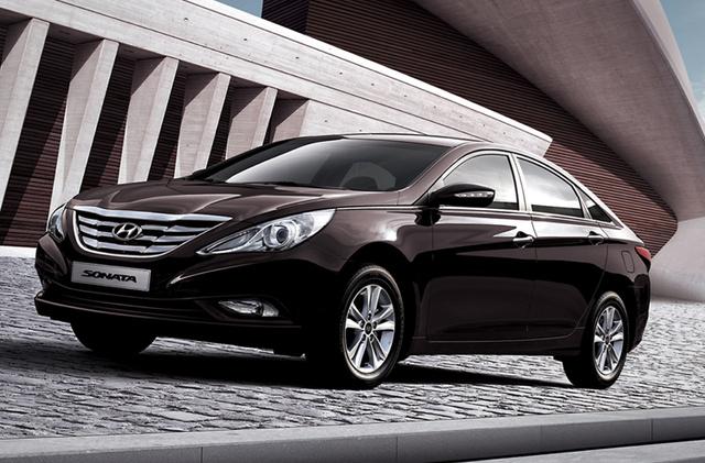 2011 Hyundai Sonata, Front Left Quarter View, exterior, manufacturer