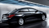 2011 Hyundai Sonata, Right Side View, manufacturer, exterior