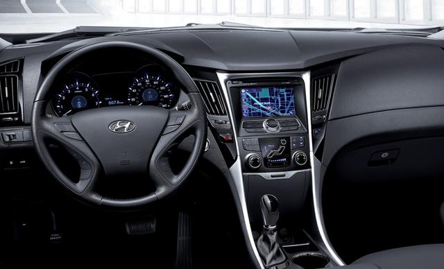 2011 Hyundai Sonata, Interior View, interior, manufacturer