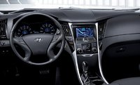 2011 Hyundai Sonata, Interior View, manufacturer, interior