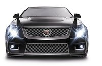 2010 Cadillac CTS-V, Front View, exterior, manufacturer