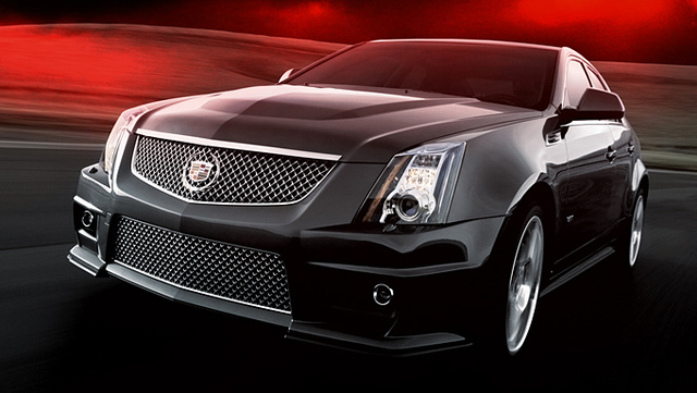2010 Cadillac Cts-v - Overview