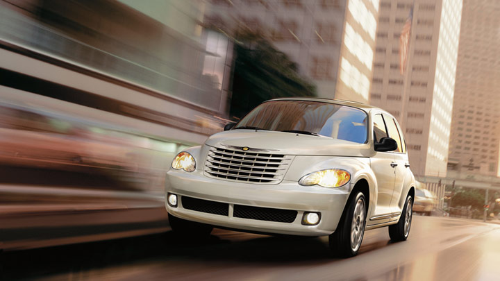 2010 Chrysler PT Cruiser, Front Left Quarter View, manufacturer, exterior