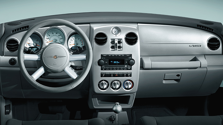 2010 Chrysler PT Cruiser, Interior View, manufacturer, interior