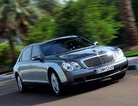 2010 Maybach 62, Front Right Quarter View, exterior, manufacturer