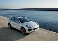 2011 Porsche Cayenne, Overhead View, exterior, manufacturer