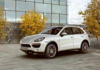 2011 Porsche Cayenne, Front Left Quarter View, exterior, manufacturer