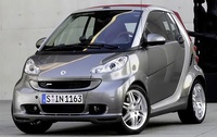 2010 smart fortwo, Front Left Quarter View, manufacturer, exterior