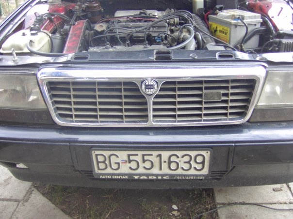 Picture of 1993 Lancia Thema, engine