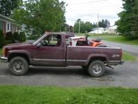 1997 Chevrolet C/K 2500 Reg. Cab 4WD, new truck, exterior