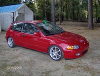 Picture of 1992 Honda Civic VX Hatchback, exterior