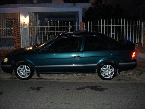 1998 Toyota Tercel 2 Dr CE Coupe, ANTES D VENDERSE..., exterior