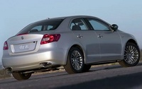2010 Suzuki Kizashi, Back Right Quarter View, manufacturer, exterior