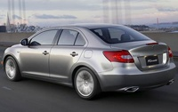 2010 Suzuki Kizashi, Back Left View, manufacturer, exterior