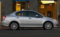 2010 Suzuki SX4, Right Side View, exterior, manufacturer