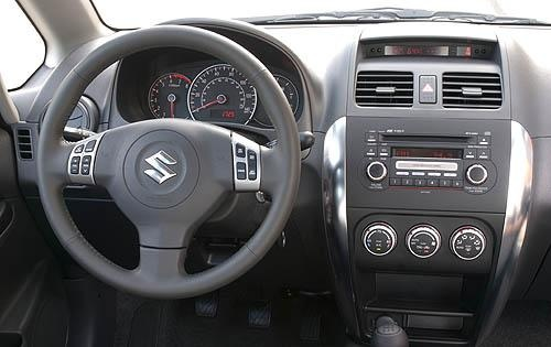 2010 Suzuki SX4, Interior View, interior, manufacturer