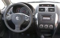 2010 Suzuki SX4, Interior View, manufacturer, interior
