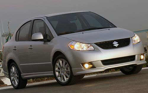 2010 Suzuki SX4, Front Right Quarter View, exterior, manufacturer