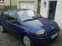 2000 Renault Clio, 3/4 view, exterior