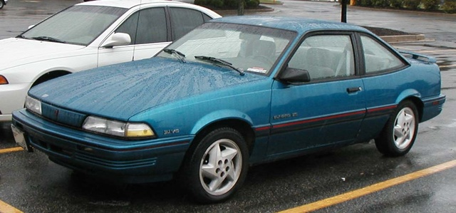 1993 Pontiac Sunbird 2 Dr LE Coupe (not actual car), exterior