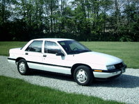 1989 Chevrolet Corsica (not actual car), exterior