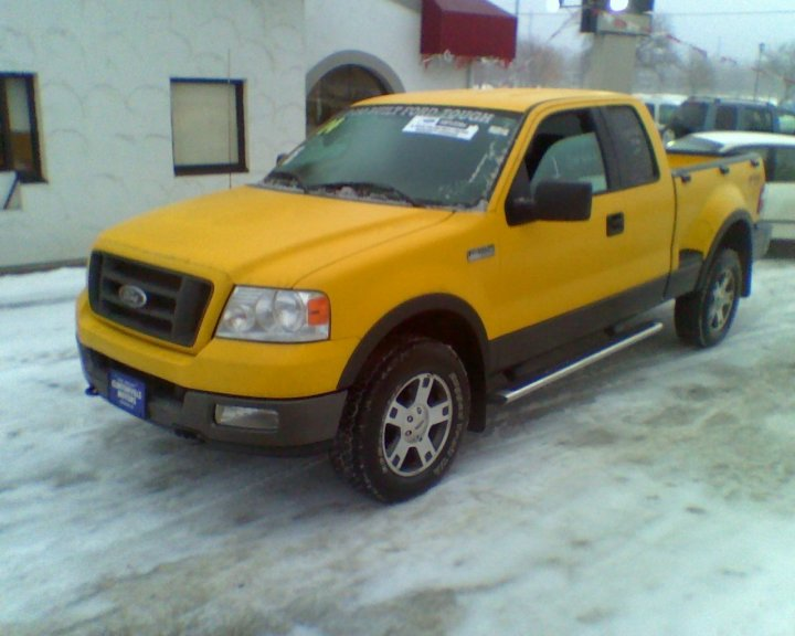 Ford F150 Fx4. 2004 Ford F-150 FX4 Ext. Cab