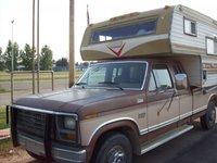 1986 Ford F-250, my truck and camper, exterior, gallery_worthy
