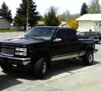 Picture of 1994 GMC Sierra 1500 K1500 SLE 4WD Extended Cab Stepside SB, exterior