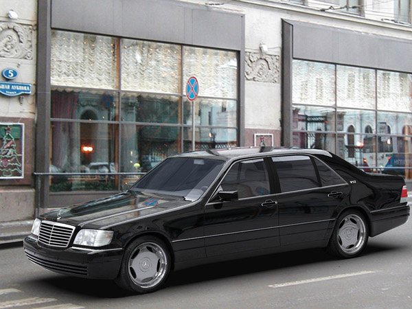 Picture of 1994 Mercedes-Benz S-Class S 600, exterior, gallery_worthy