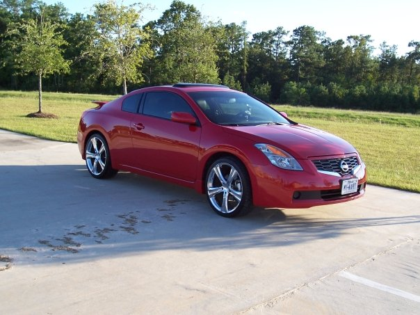 2008 Nissan Altima Coupe Interior. 2008 Nissan Altima Coupe 2.5 S