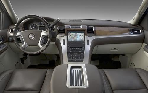 2009 Cadillac Escalade ESV, Interior View, interior, manufacturer