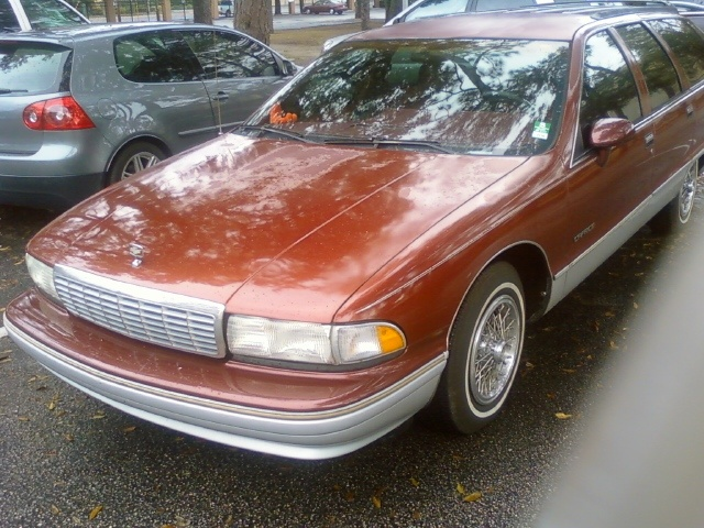 1992 Chevrolet Caprice Base Wagon, Arrived at JU.