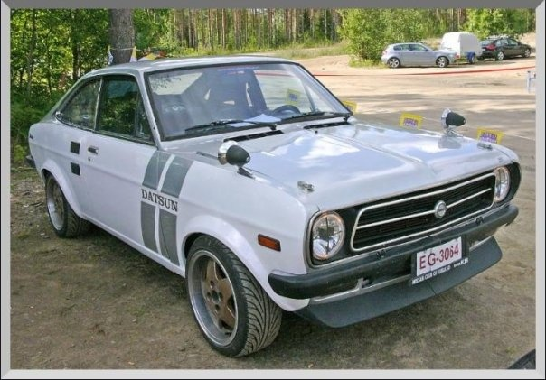 1973 Datsun 1200, Finni Finn-jaessa 2009, exterior, gallery_worthy