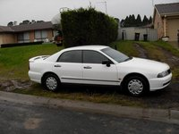 1998 Mitsubishi Magna, The New White Magna, exterior, gallery_worthy