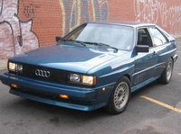 1984 Audi Coupe Overview
